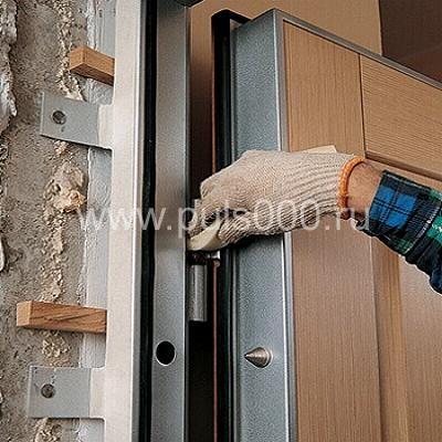установить железную двери