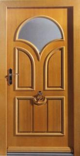 входная дверь со стеклом в сергиев