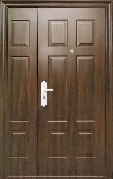 дверь двойная стальная