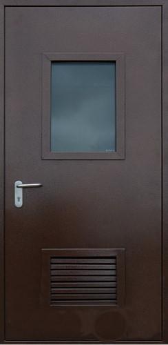 двери металлические с вентрешеткой