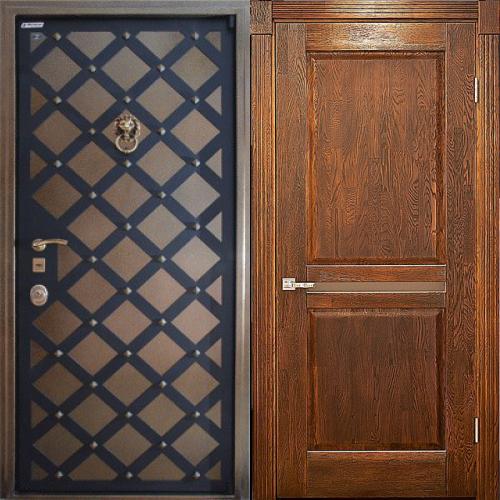 филенчатые входные двери недорого с хорошей звукоизоляцией
