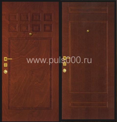 железной стороне двери