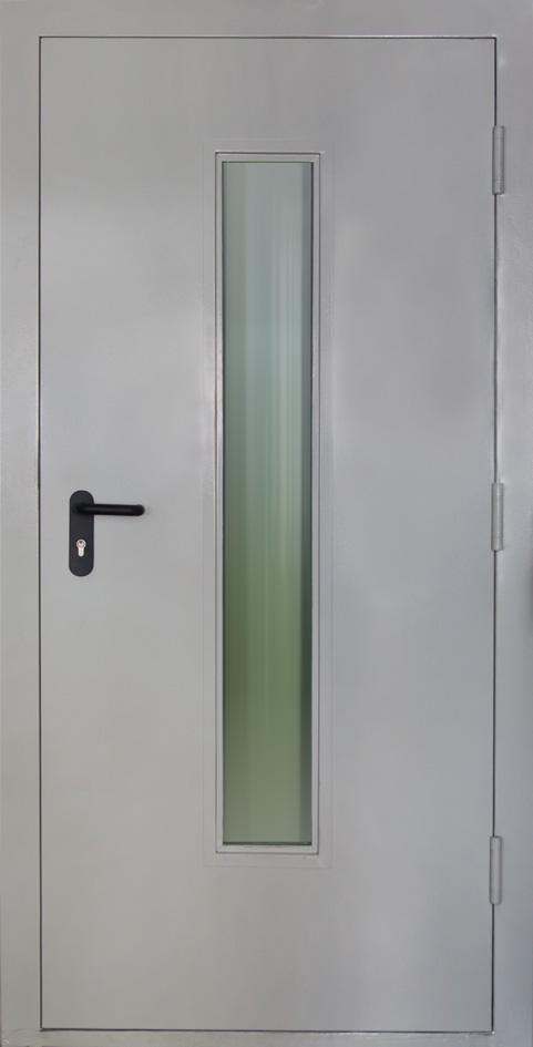 технические двери со стеклом расчёта