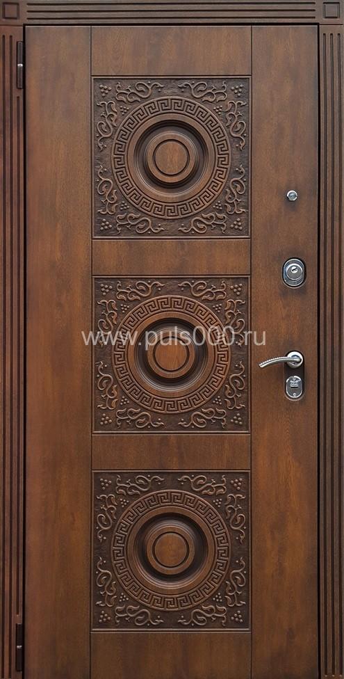 металлические двери со стеклом и ковкой на юге москвы