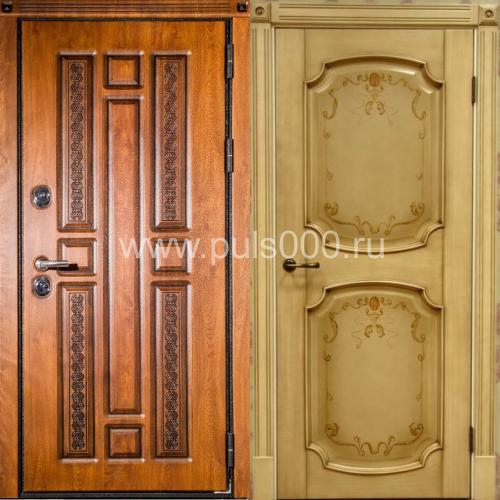 изготовим входные двери из массива