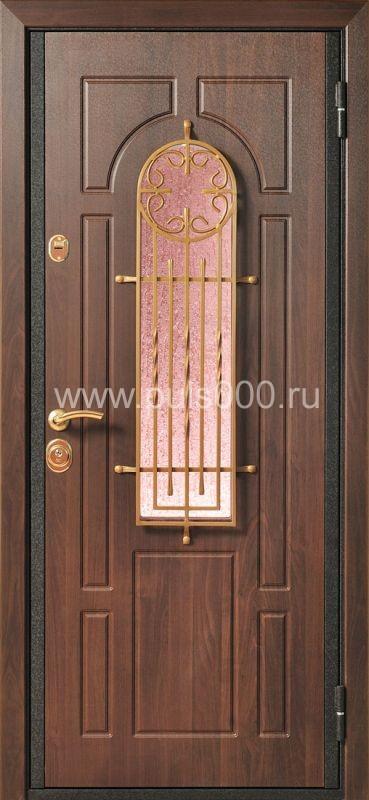 металлические двери со стеклом в москве цены