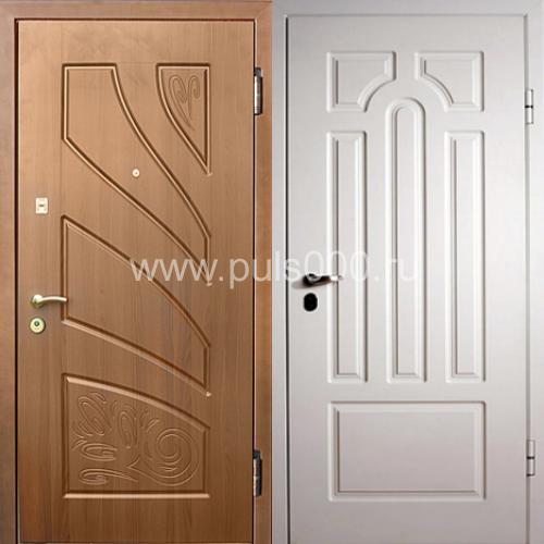 купить недорогую входную дверь с мдф с двух сторон