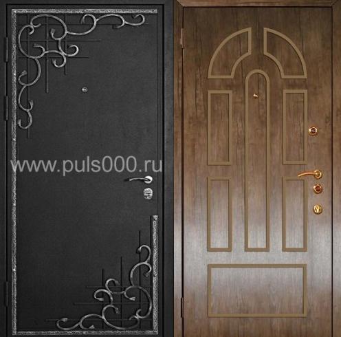 железные двери с узорами