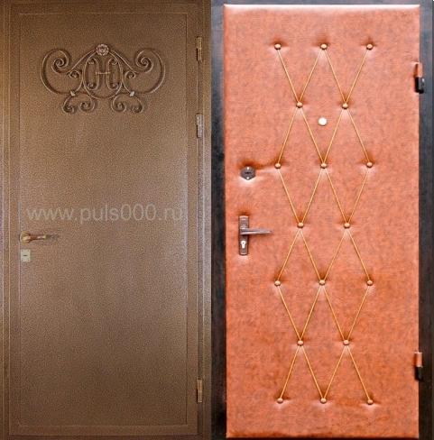 двери двустворчатые металлические с ковкой в наличии