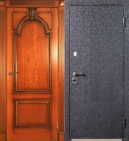 изготовление входных офисных металлических дверей