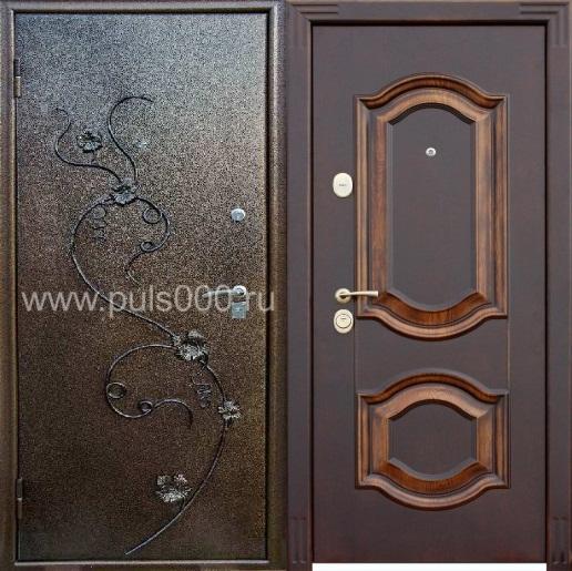купить входную металлическую дверь дешево с ковкой