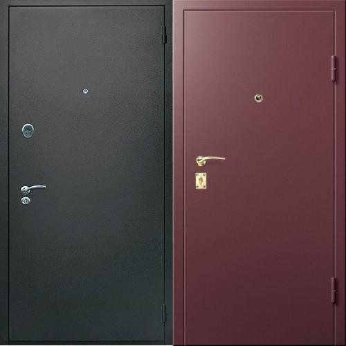 стальные двери с металлическим порошковым напылением