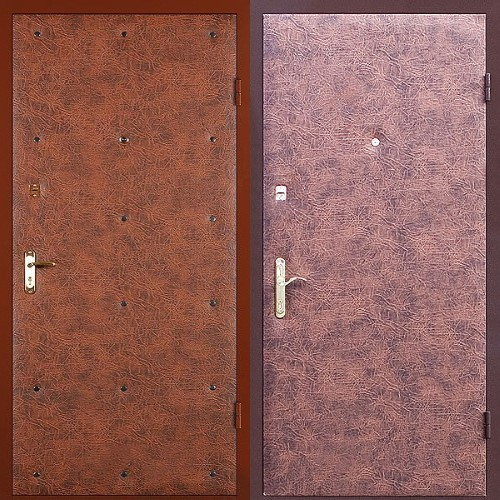 металлические двери винилискожа в наличии москва