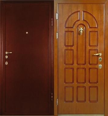элитные входные двери металлические с порошковой напылением