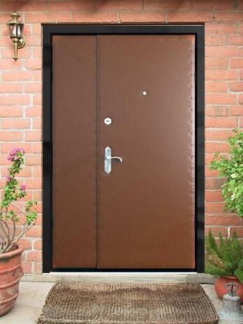 усиленные металлические входные двери от производителя в подъезд