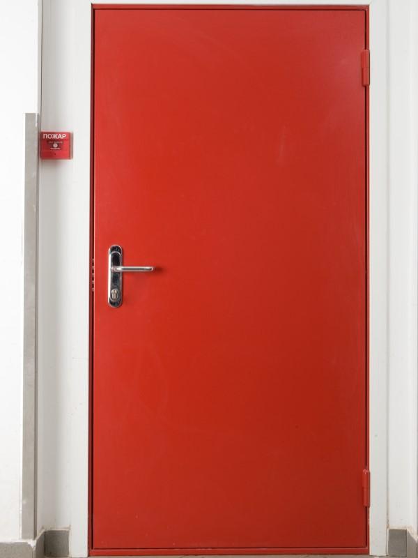 двери металлические на 60