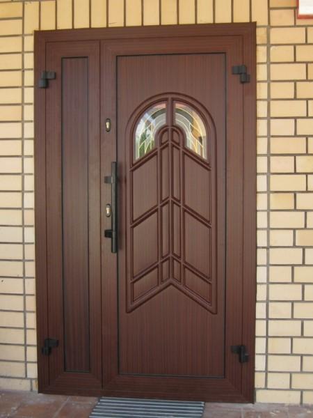 смотреть входные сварные двери